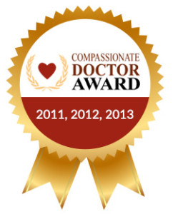 compassionate doctor award Doctor David Ahdoot MD Burbank Palmdale California gyn gynecology robotic hysterectomy